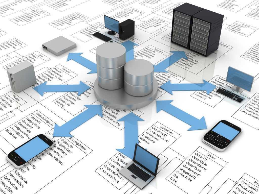 Работа с базами данных на блокчейне