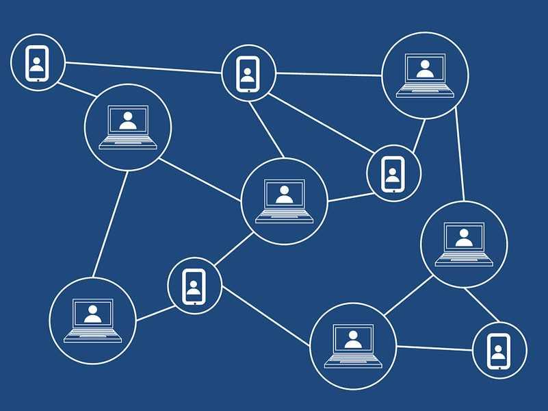 Распределение базы данных между пользователями blockchain