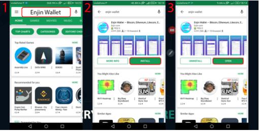 Эфириум кошелек на Android