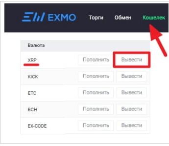 """Вкладка """"кошелёк"""""""
