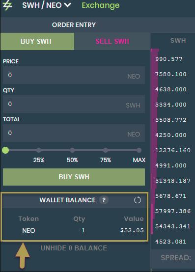 Wallet Balance